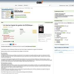 DVD Profiler - Avis - Un très bon logiciel de gestion de DVDthèque