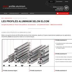 Profilés aluminium : Une gamme unique en France