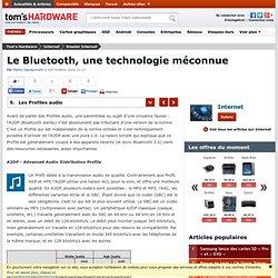 Les Profiles audio : Le Bluetooth, une technologie méconnue