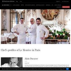 Chef's Profiles Restaurants and Bar Hotel Plaza Athénée Paris