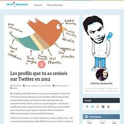 Source : Les profils que tu as croisés sur Twitter en 2012