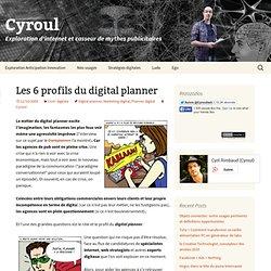 Les 6 profils du digital planner
