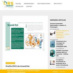 Profils EPCI du Grand Est