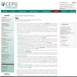 - Profils Pays / Country Profiles - Presentation