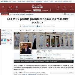 Les faux profils prolifèrent sur les réseaux sociaux