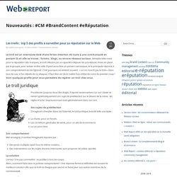 Les trolls : top 5 des profils à surveiller pour sa réputation sur le Web