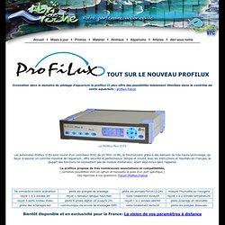 Profilux GHL contrôleur d'aquarium - Abri Sous Roche