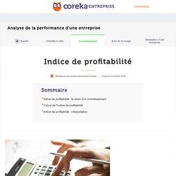 Indice de profitabilité : définition et calcul - Ooreka