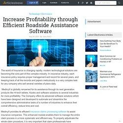 Increase Profitability through Efficient Roadside Assistance Software