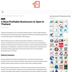 4 Most Profitable Businesses to Open in Thailand