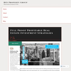 RSN Property Group Is The Real Estate Investment Group