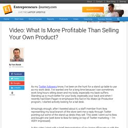 Video: What Is More Profitable Than Selling Your Own Product?