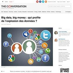 Big data, big money : qui profite de l'explosion des données ? Theconversation