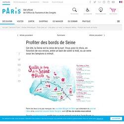 Profiter des bords de Seine Paris - Office du Tourisme de Paris
