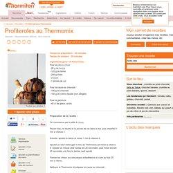 Profiteroles au Thermomix : Recette de Profiteroles au Thermomix