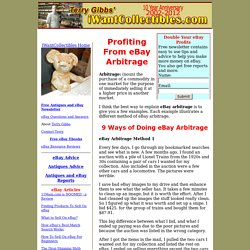 9 Ways of Profiting From eBay Arbitrage - Antiques and eBay Tips