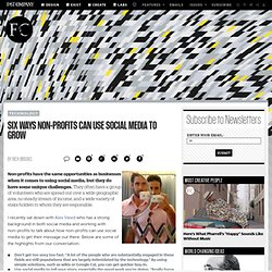 Six Ways Non-Profits Can Use Social Media to Grow