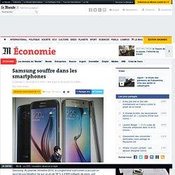 Les profits de Samsung décrochent dans le marché du smartphone