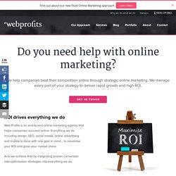 Web Profits Online Marketing Agency