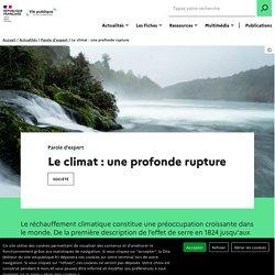 Le climat : une profonde rupture par Emmanuel Le Roy Ladurie