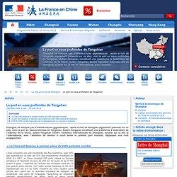 Le port en eaux profondes de Yangshan