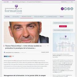 Thierry Teboul (Afdas) : « Cette réforme modifie en profondeur le paradigme de la formation »