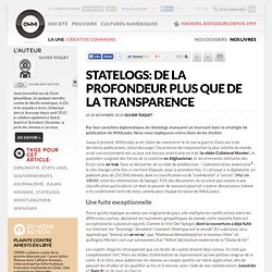 Statelogs: de la profondeur plus que de la transparence » Article » OWNI, Digital Journalism