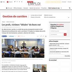 """Les profs, victimes """"idéales"""" du burn-out"""