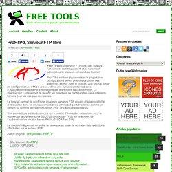 ProFTPd, Serveur FTP libre