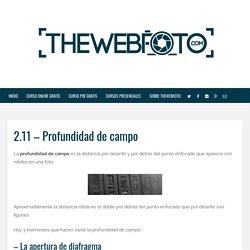 Curso de fotografía digital TheWebfoto