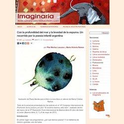 Con la profundidad del mar y la levedad de la espuma. Un recorrido por la poesía infantil argentina