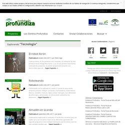 Andalucía Profundiza » Tecnología