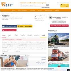 Société PROGETEC à Toulouse (Chiffre d'affaires, bilans, résultat) avec Verif.com - Siren 810041129