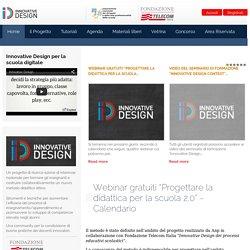 """Webinar gratuiti """"Progettare la didattica per la scuola 2.0"""" - Calendario"""