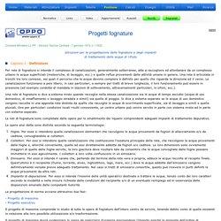 Progetti fognature - Definizioni