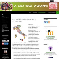 Progetto 'Italiano per stranieri'