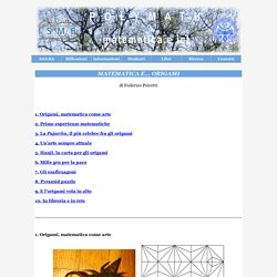 Progetto Polymath - Matematica e... Origami
