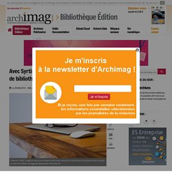 Article Syrtis Archimag (article en ligne)