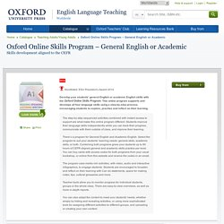 Oxford Online Skills Program – General English or Academic