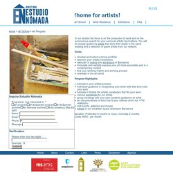 Art school Barcelona Spain