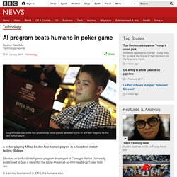 AI program beats humans in poker game