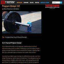 Program Design 101