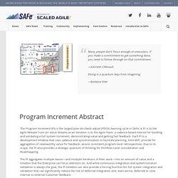 Program Increment – Scaled Agile Framework