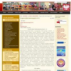 Program kółka teatralnego kl.IV-VI