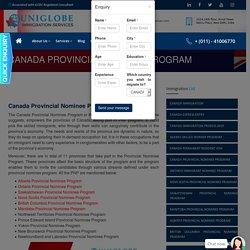 CANADA PROVINCIAL NOMINEE PROGRAM - Best Immigration Consultants