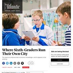 Me & MyCity Program Teaches Sixth-Graders in Finland Real-Life Skills