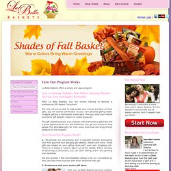 How Our Program Works - Labella Baskets