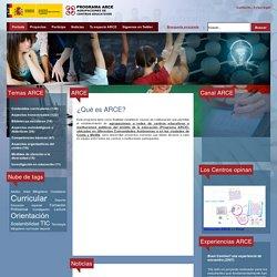 Programa ARCE - Portal Educativo - Portada