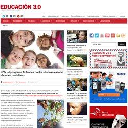 KiVa, el programa finlandés contra el acoso escolar, ahora en castellano