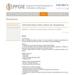 PPGIE - Programa de Pós-Graduação em Informática na Educação - UFRGS